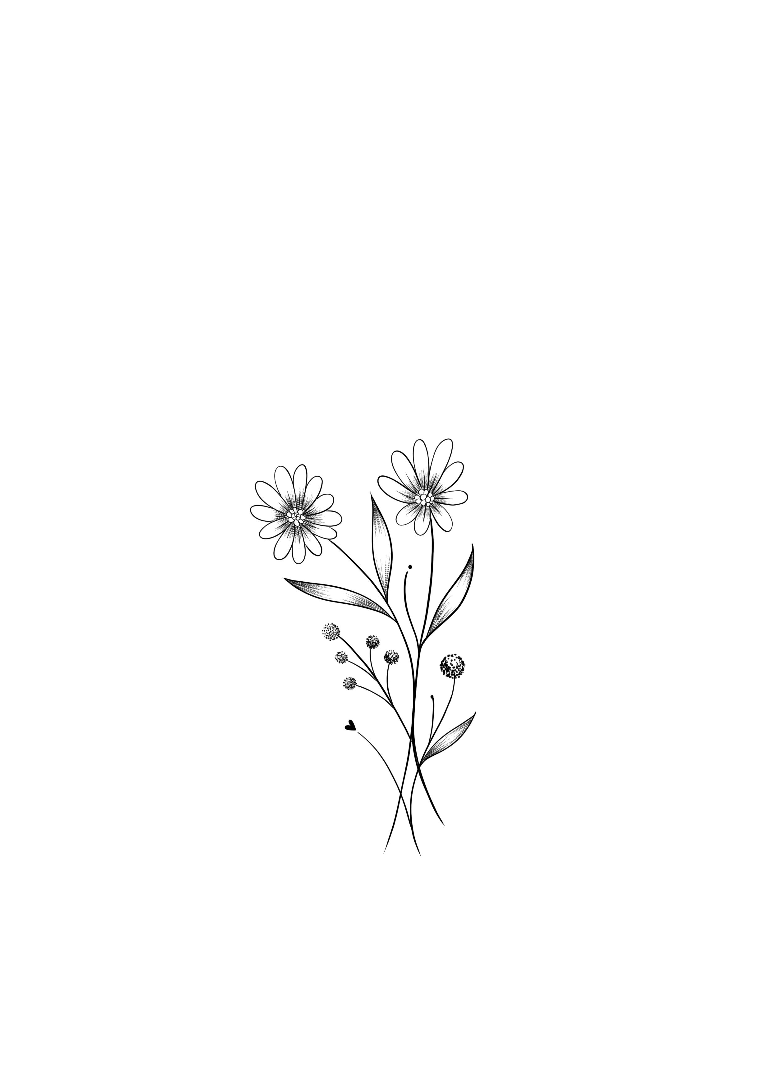Desenho De Flor Pequena