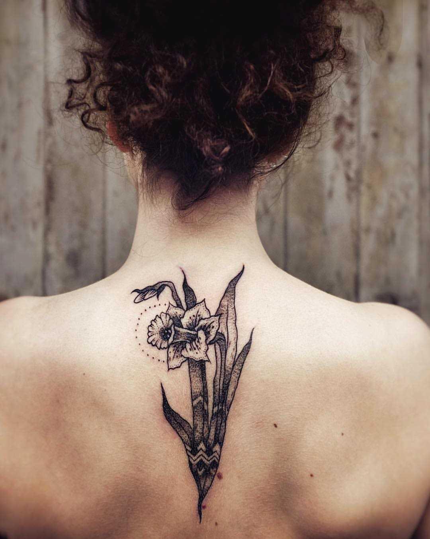 Tatuagem de Narciso