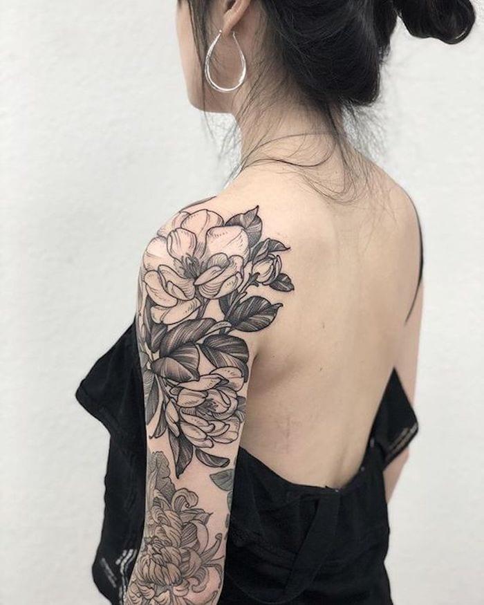 Tatuagem De Magnólia